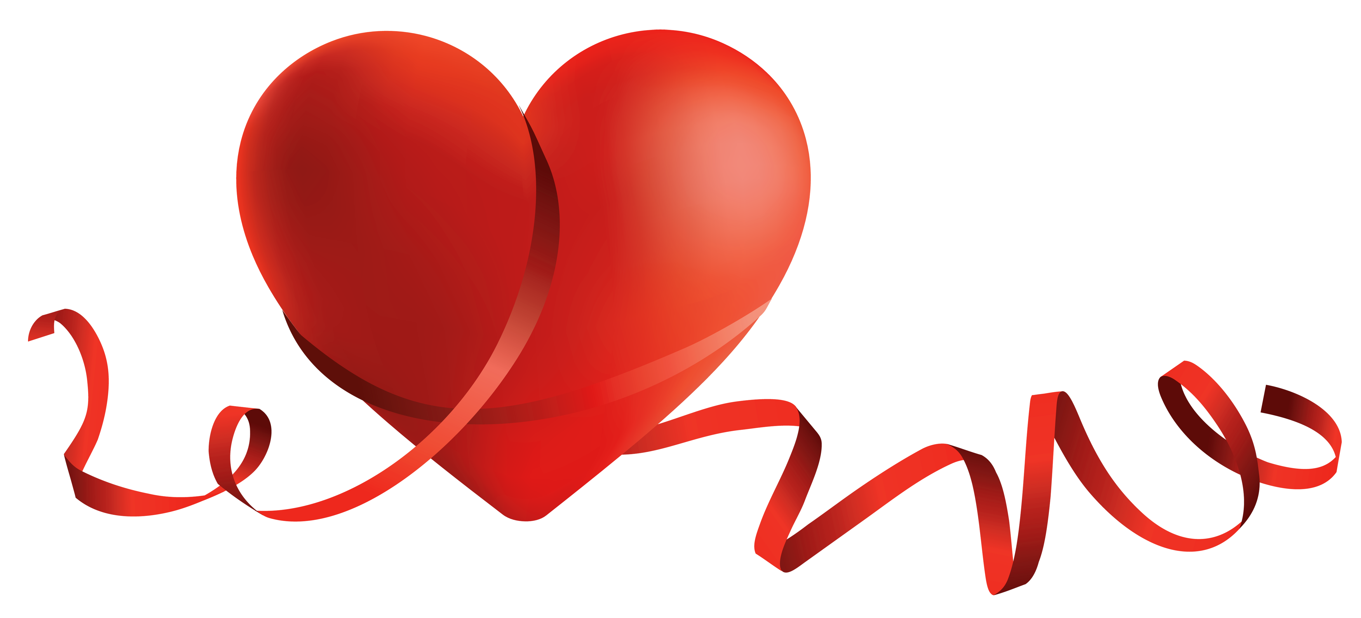 Clipart halloween heart. Transparent red with bow