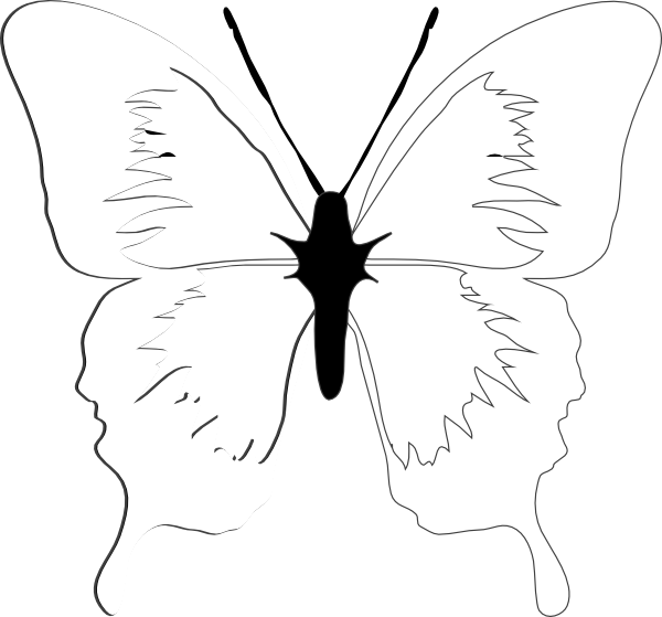 Dragonwings clip art at. Kite clipart butterfly