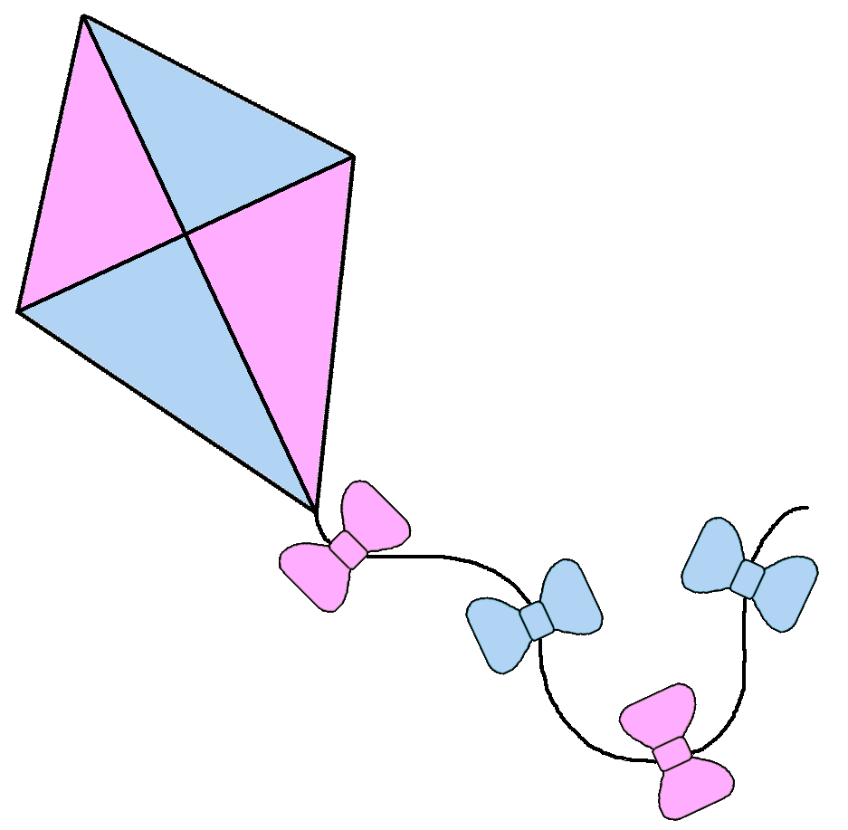 Clipart toys kite. Graphics by ruth kites