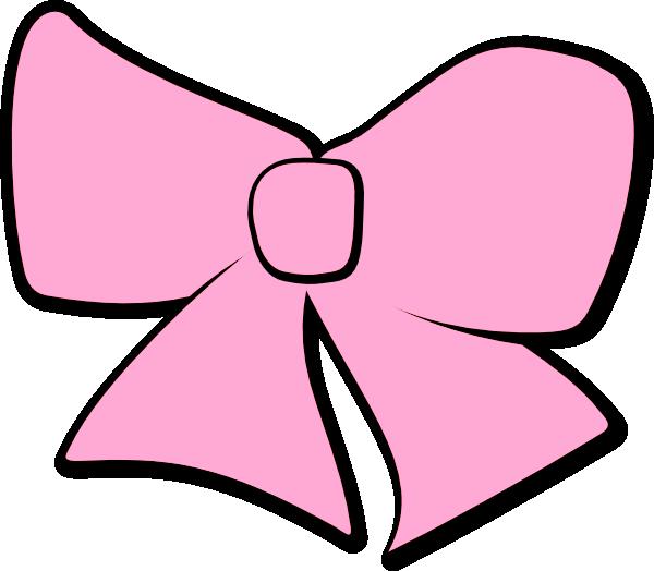 Bow clip art at. Hair clipart pink