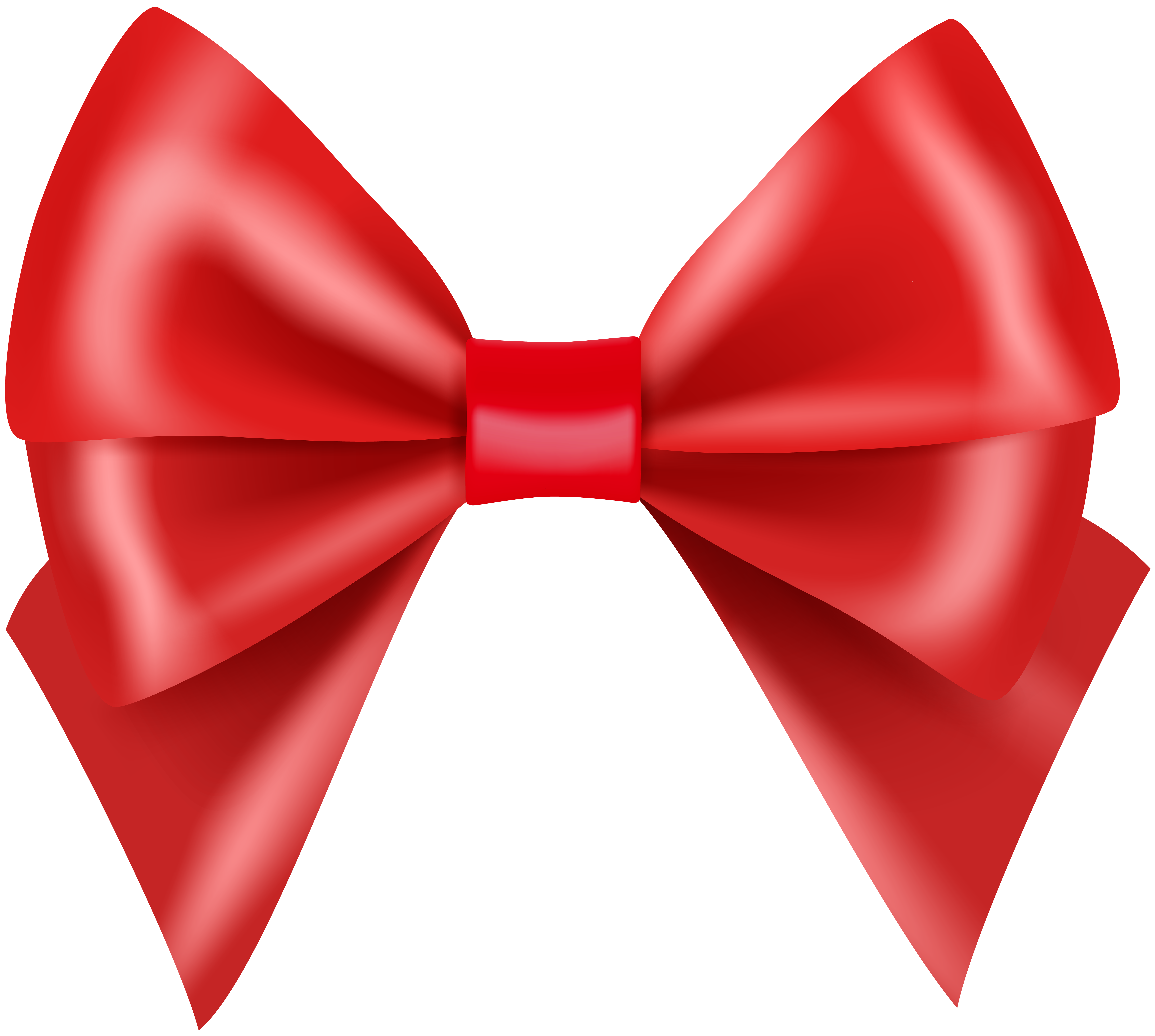 Red transparent image gallery. Clipart bow large