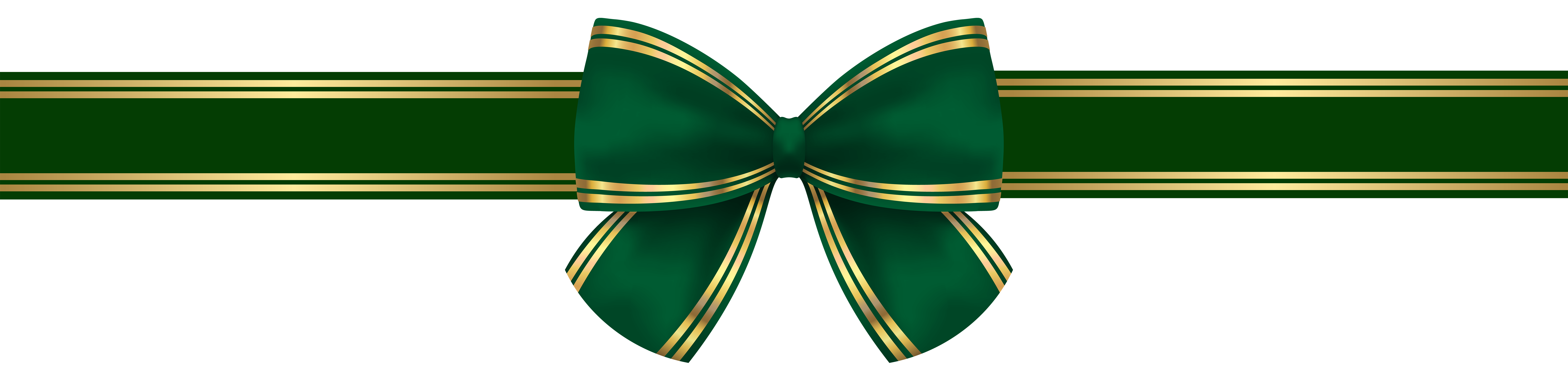 Green gold bow png. Clipart grass translucent