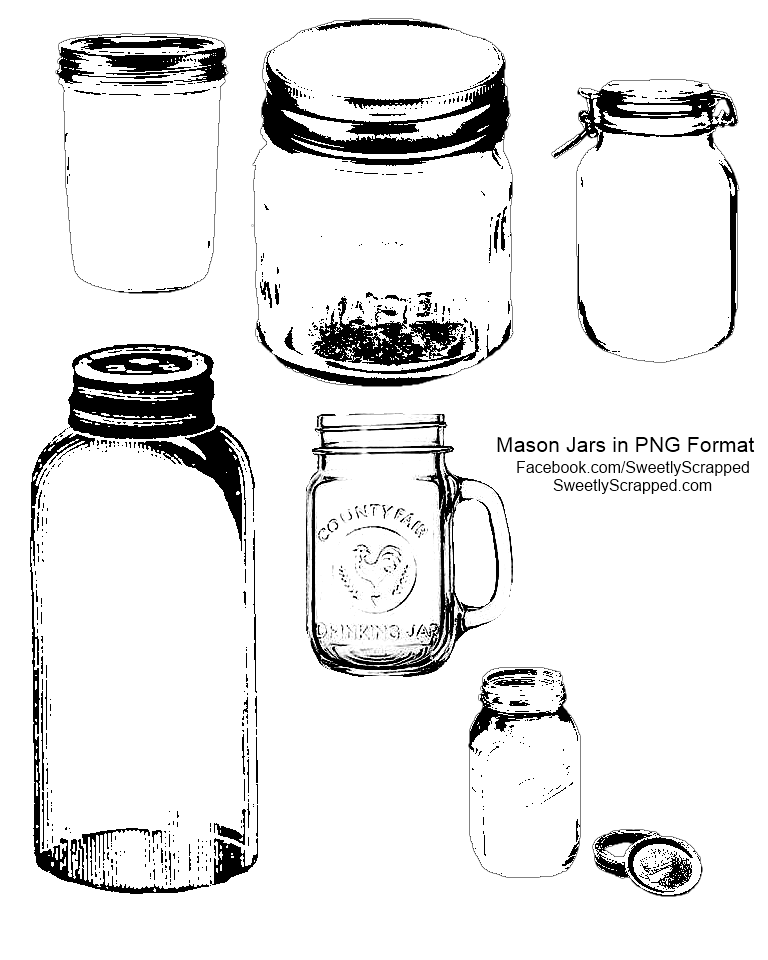 Perfume clipart canning jar. Free primitive custimizale christmas