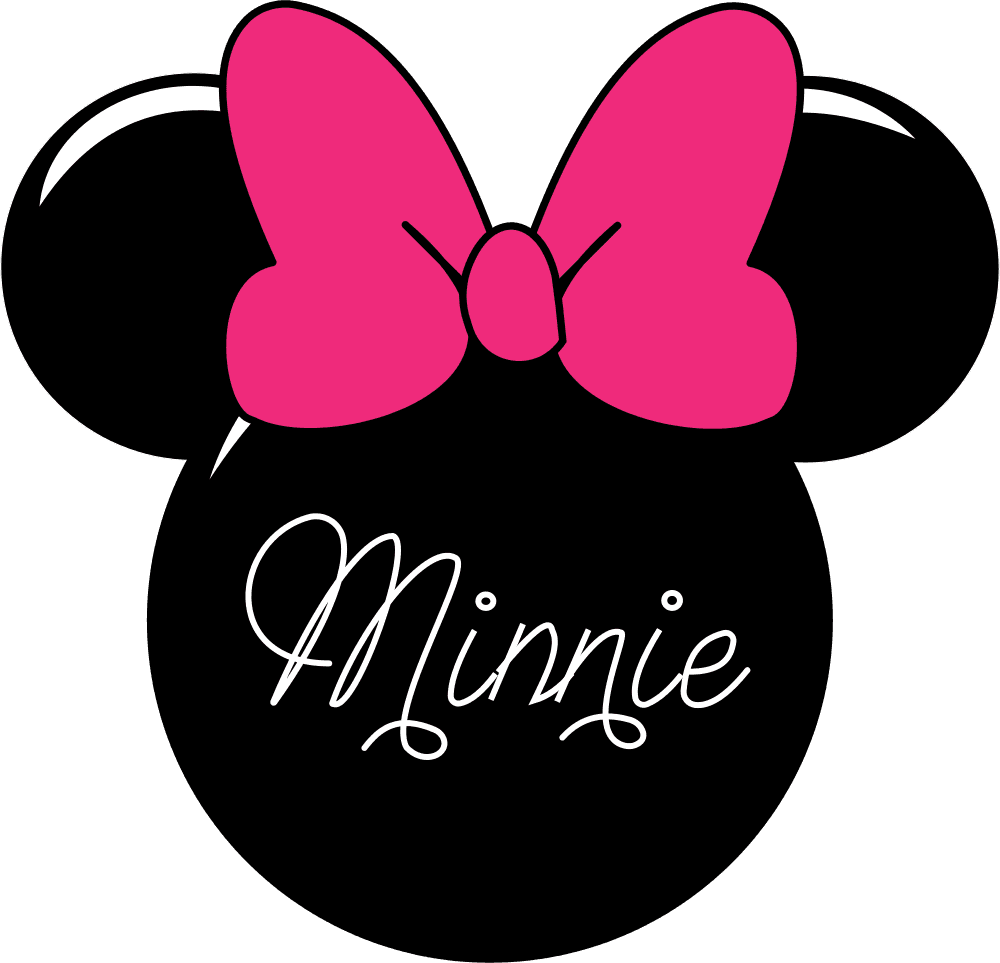 One clipart minnie mouse.  free clip art