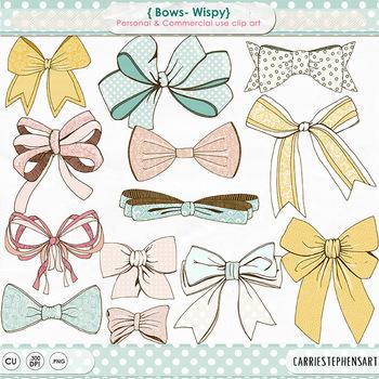 Clipart bow pastel bow. Wispy clip art tie