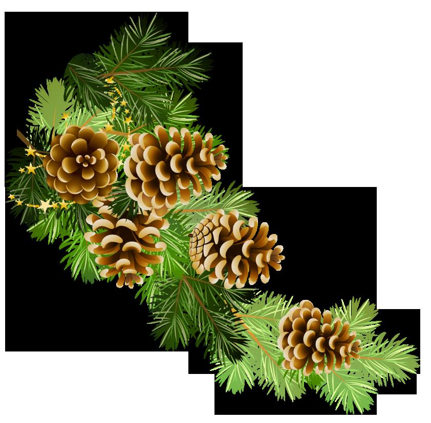 garland clipart winter