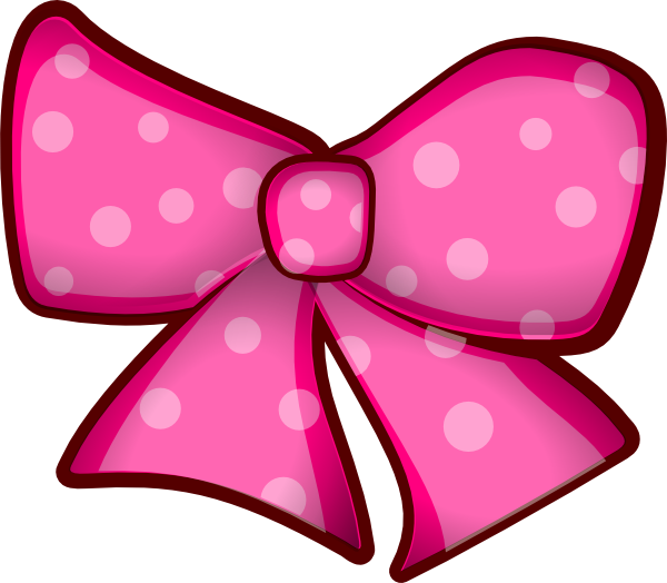 pink bow clip art | Clipart Panda - Free Clipart Images