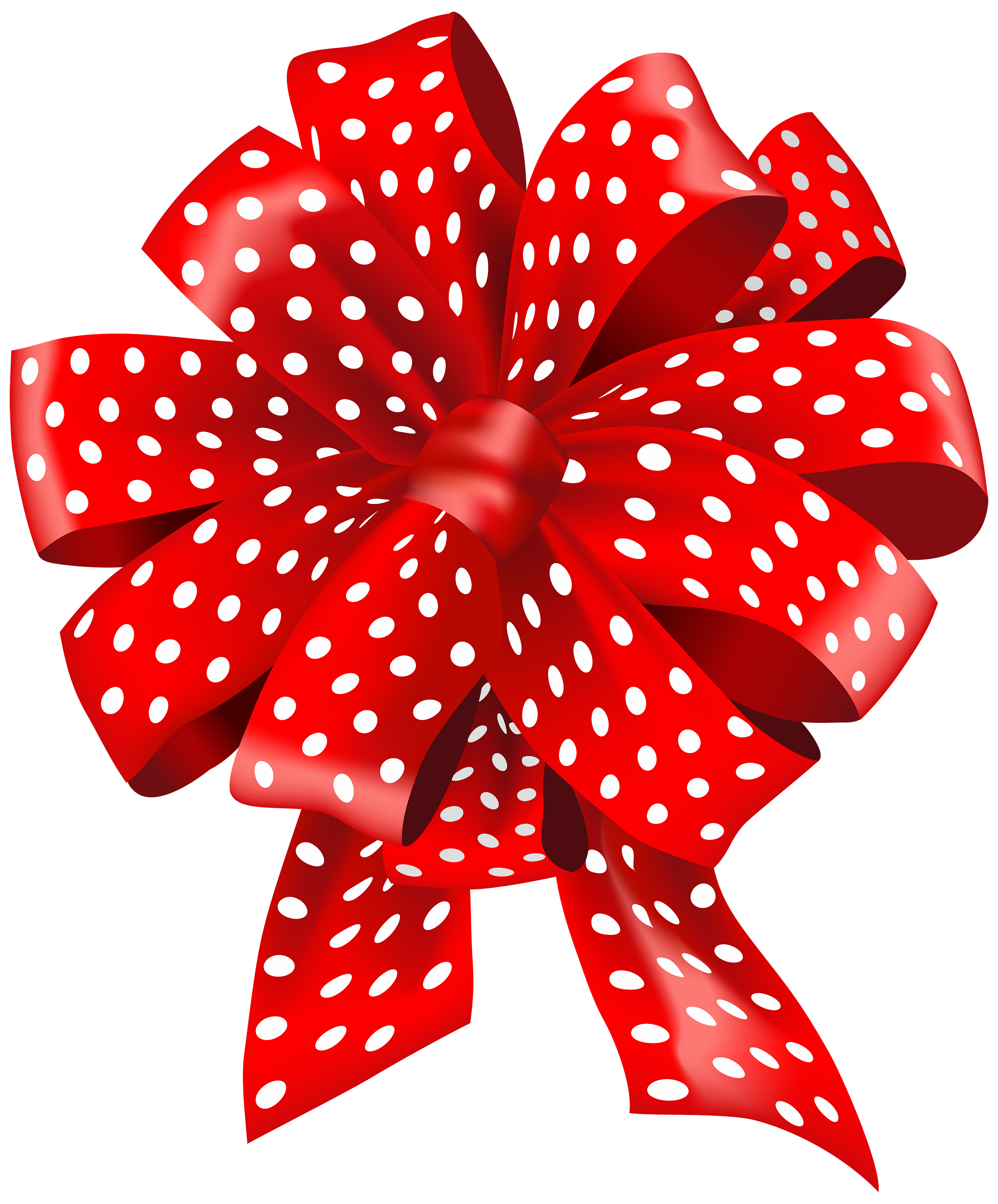 Clipart bow polka dot. Red dotted png best