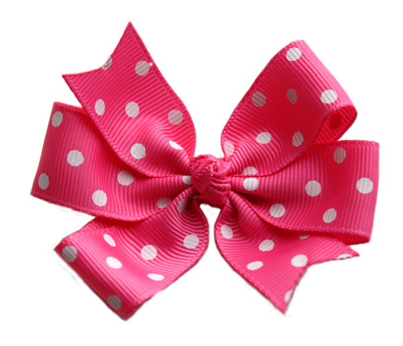 inch baby pink. Clipart bow polka dot