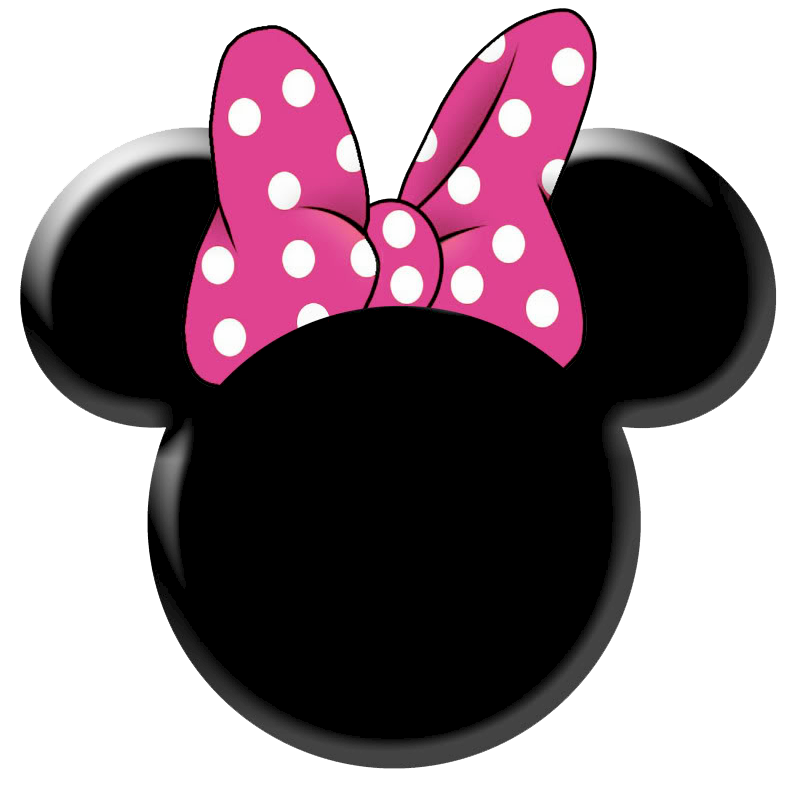Minnie bow template best. Clipart face mouse