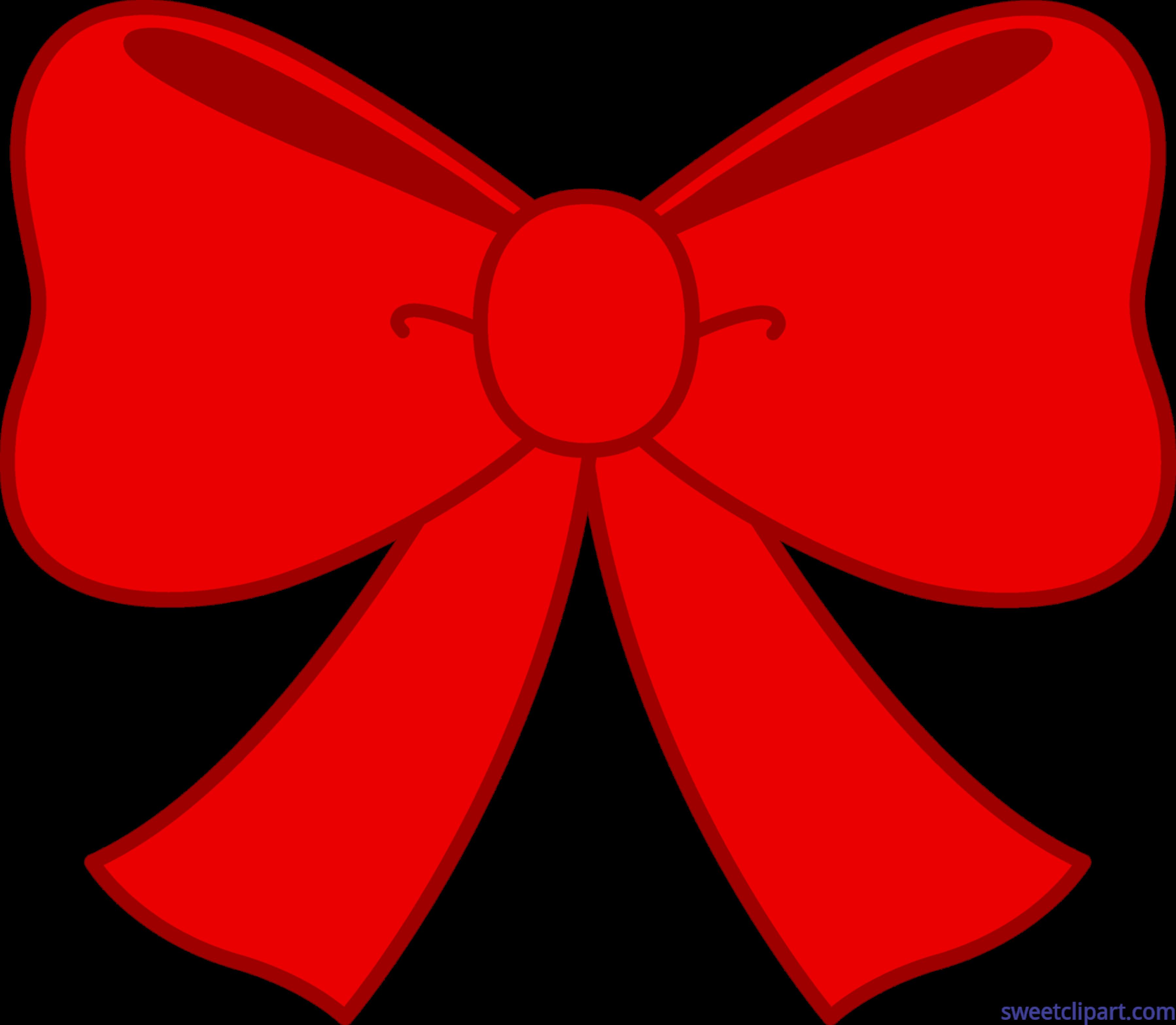 Clipart bow red. Cute clip art sweet
