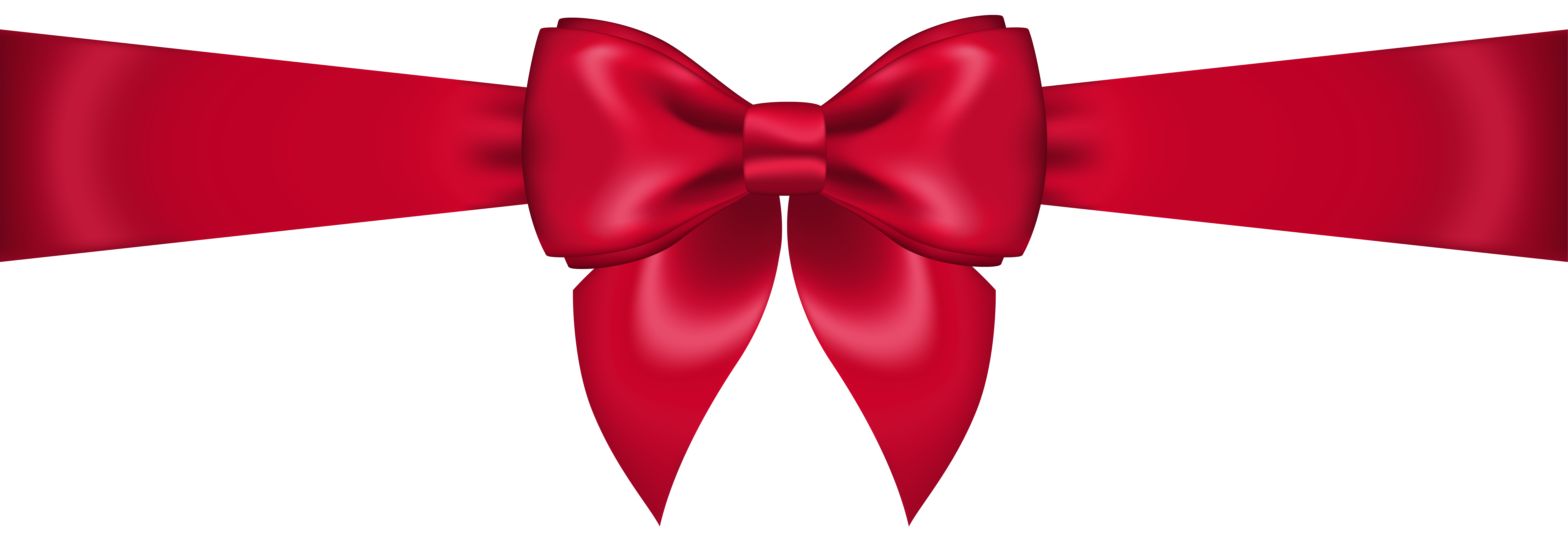 Transparent png clip art. Clipart bow red