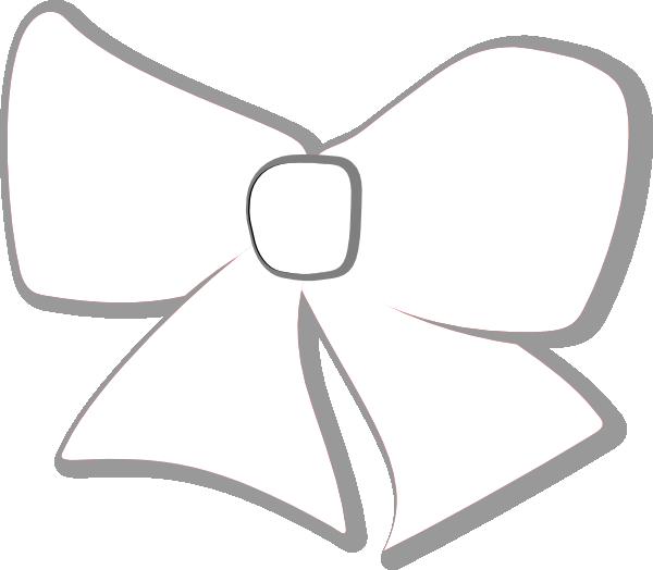 Clipart bow silver. Hair clip art at