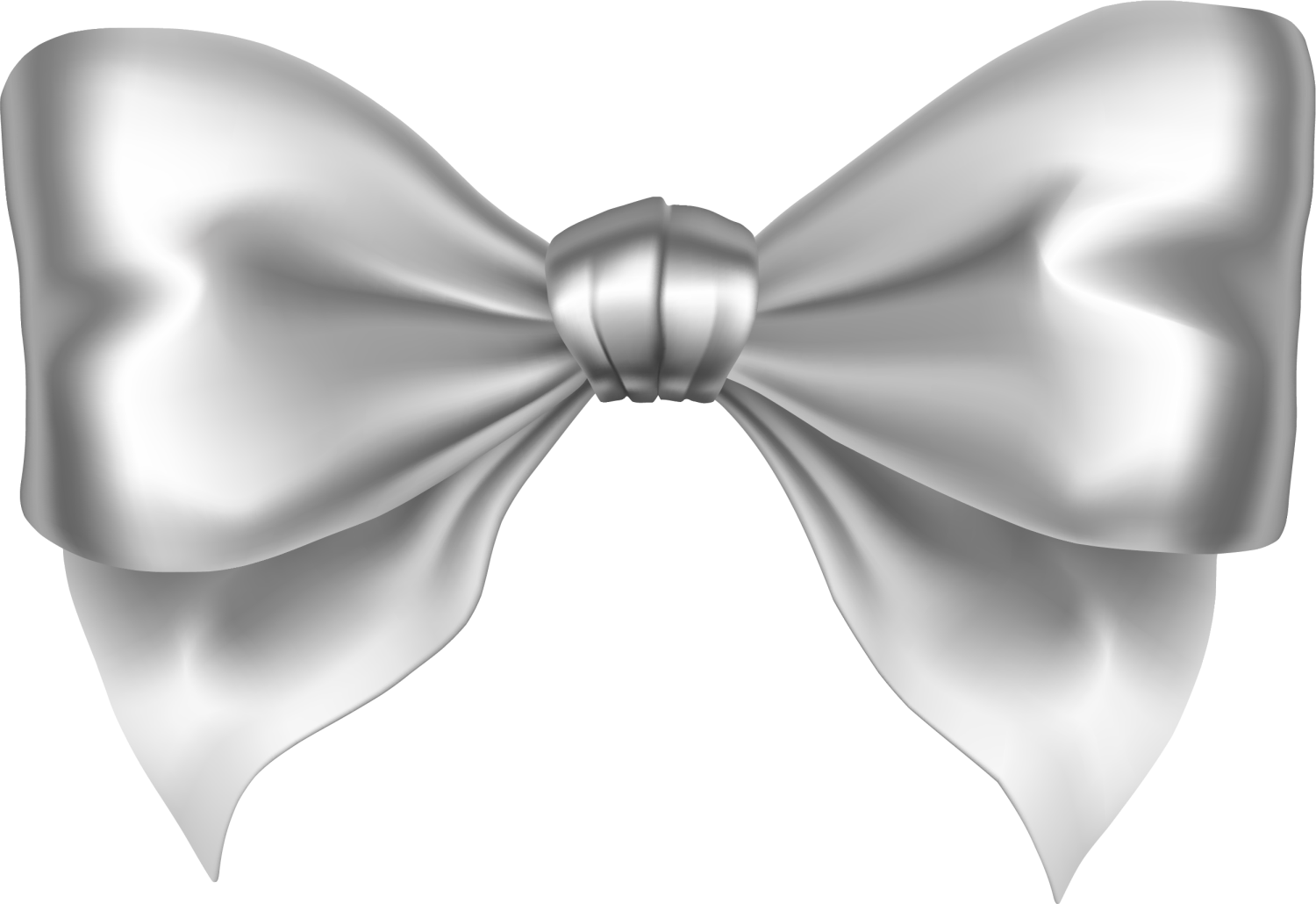 Star stable ribbon png. Clipart bow silver