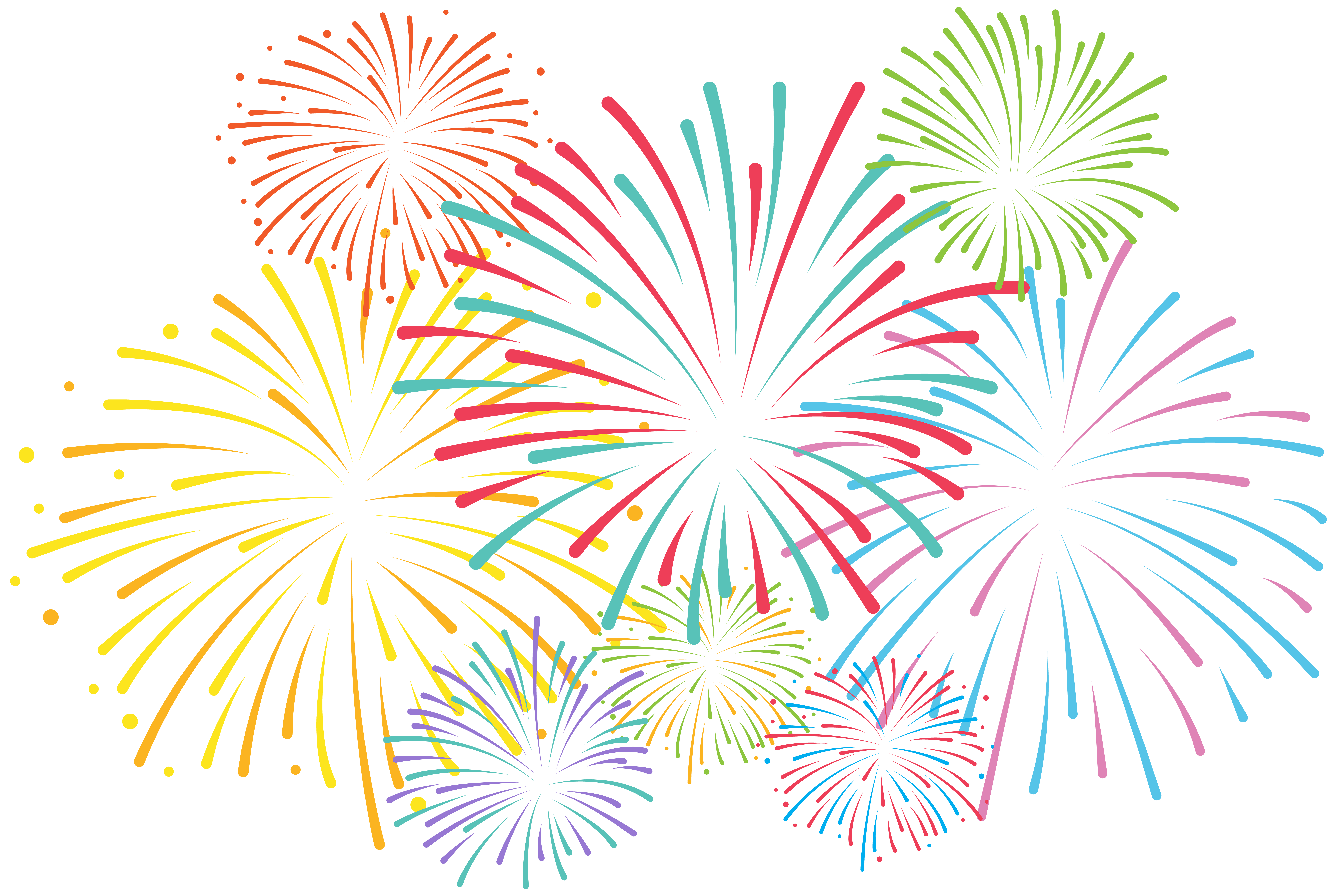 Wheat clipart gold paisley. Fireworks png clip art