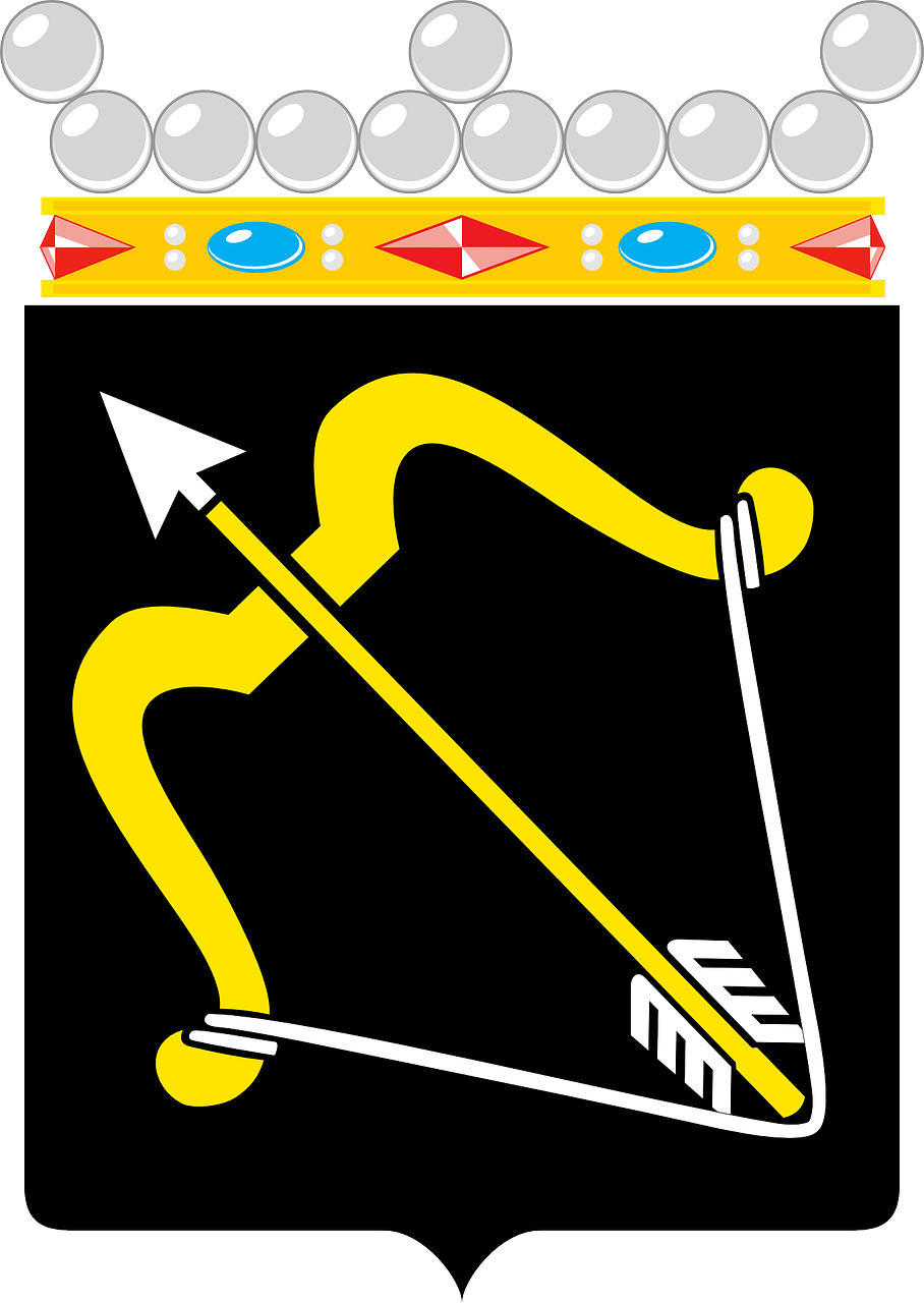 Clipart bow simply southern. Arrow coat arms weapon