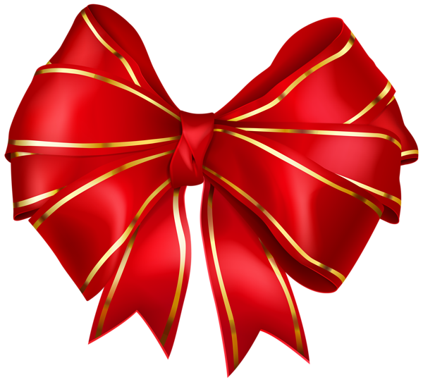 Lace clipart tied. Red bow with gold