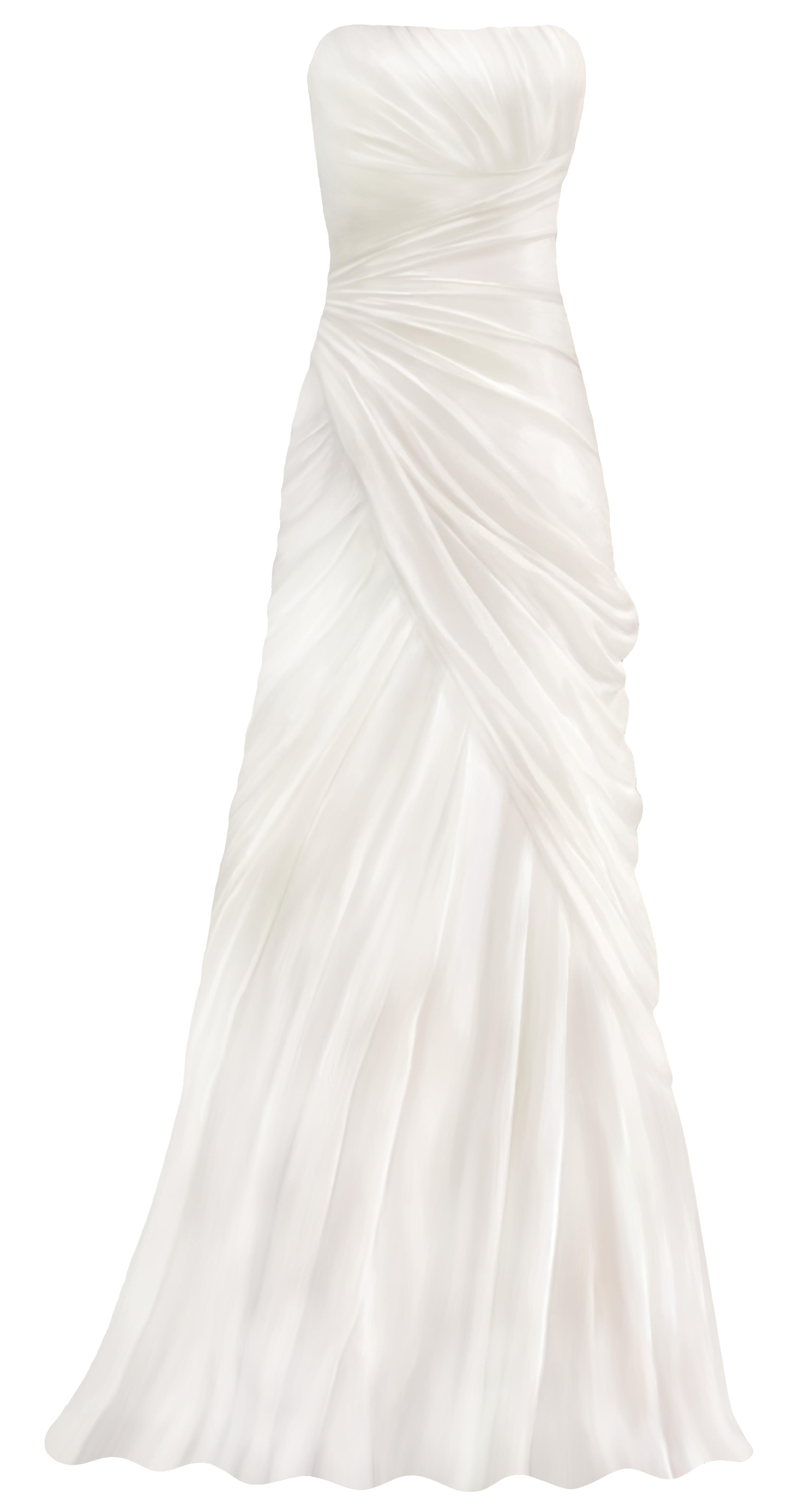 dress clipart strapless dress