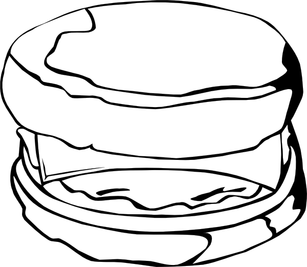 Clipart box biscuits. Fast food breakfast egg