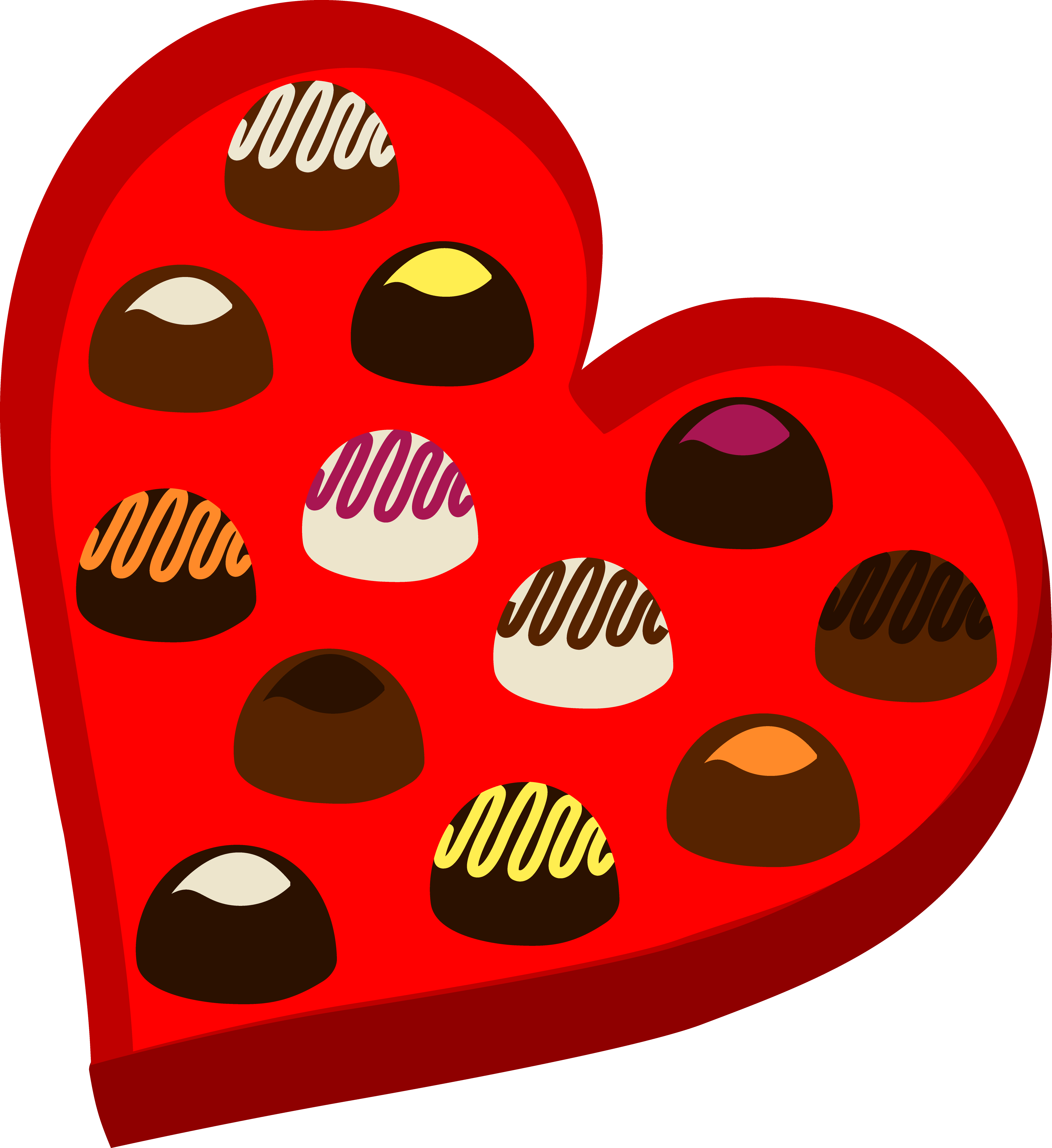 Heart shaped box of. Valentine clipart cookie