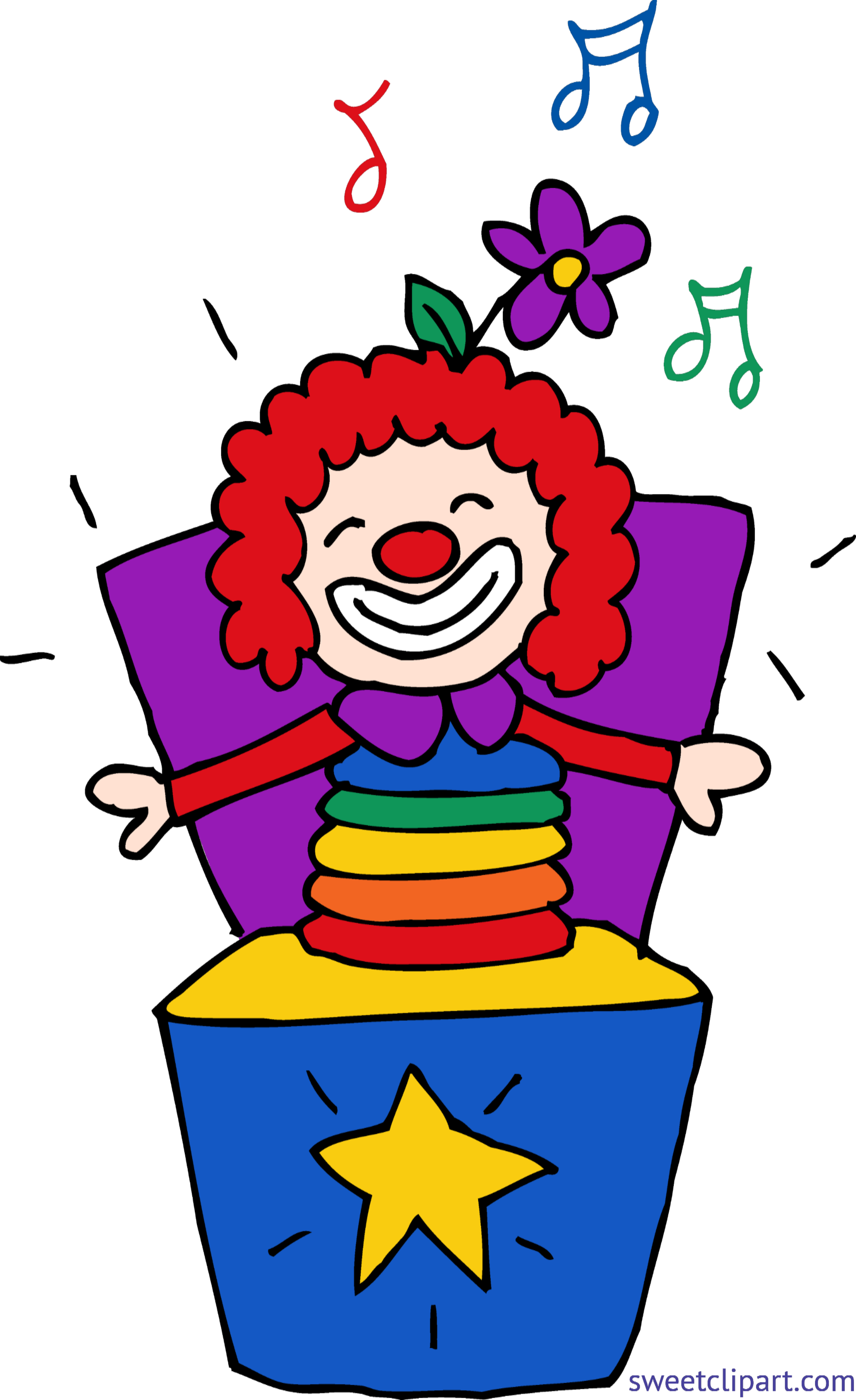 Jack in the box. Clipart thermometer cartoon food