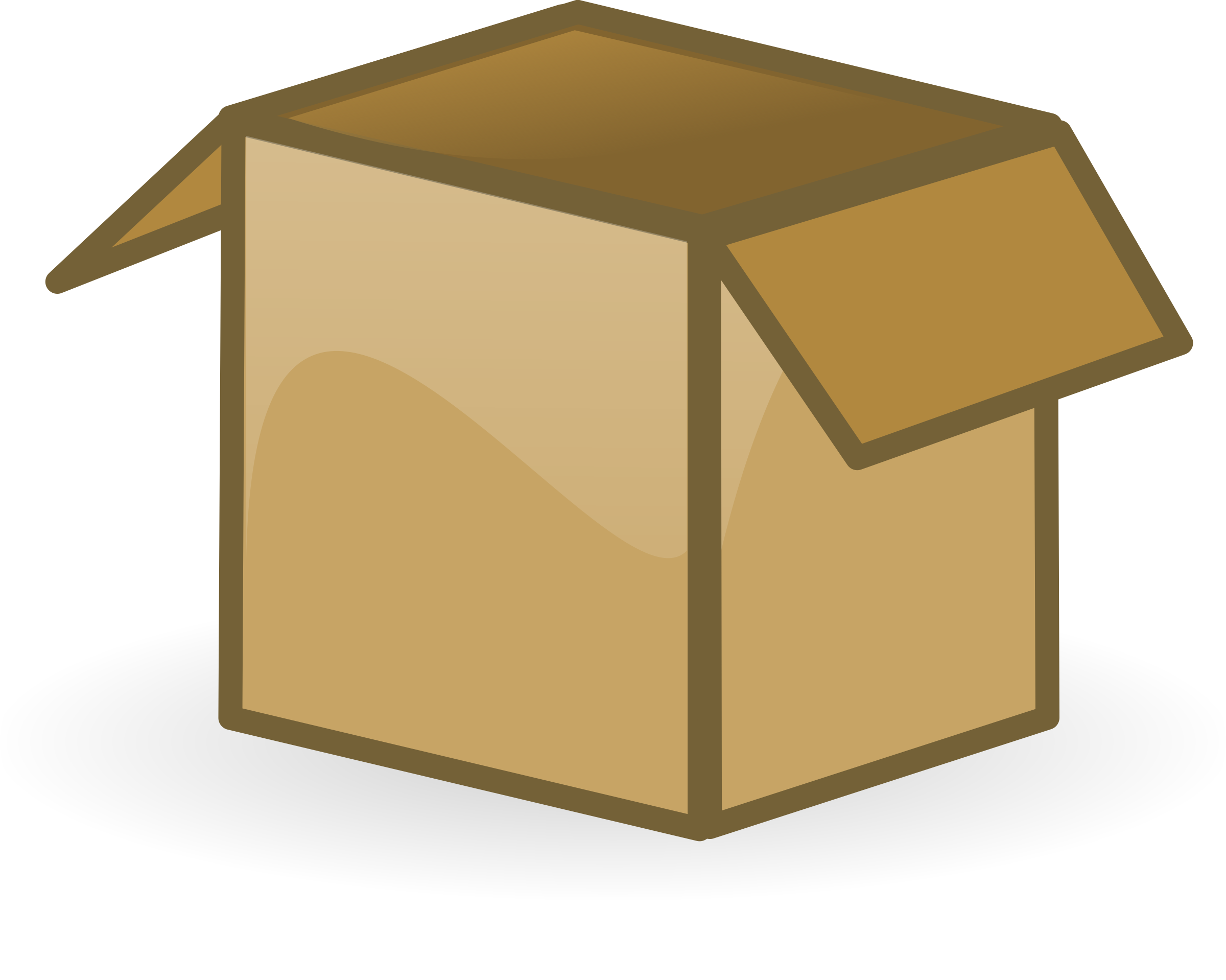 Open big image png. Clipart box cartoon