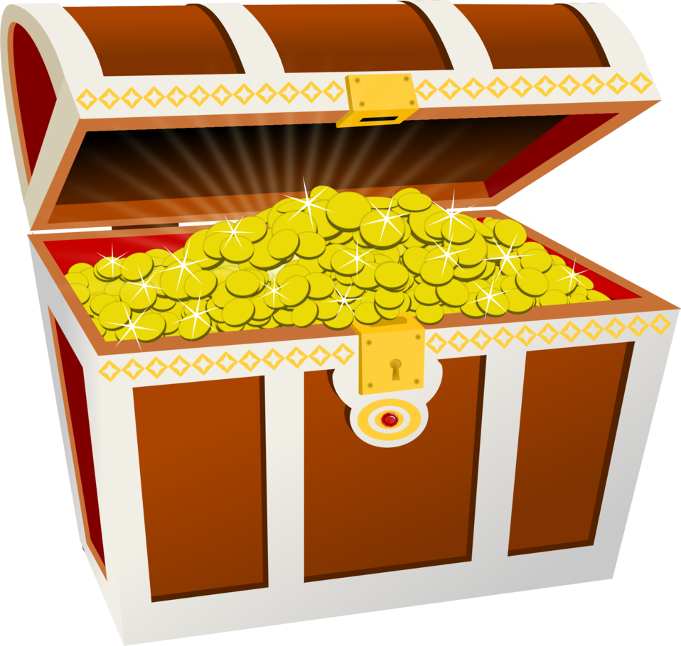 Clipart box chest. Public domain clip art