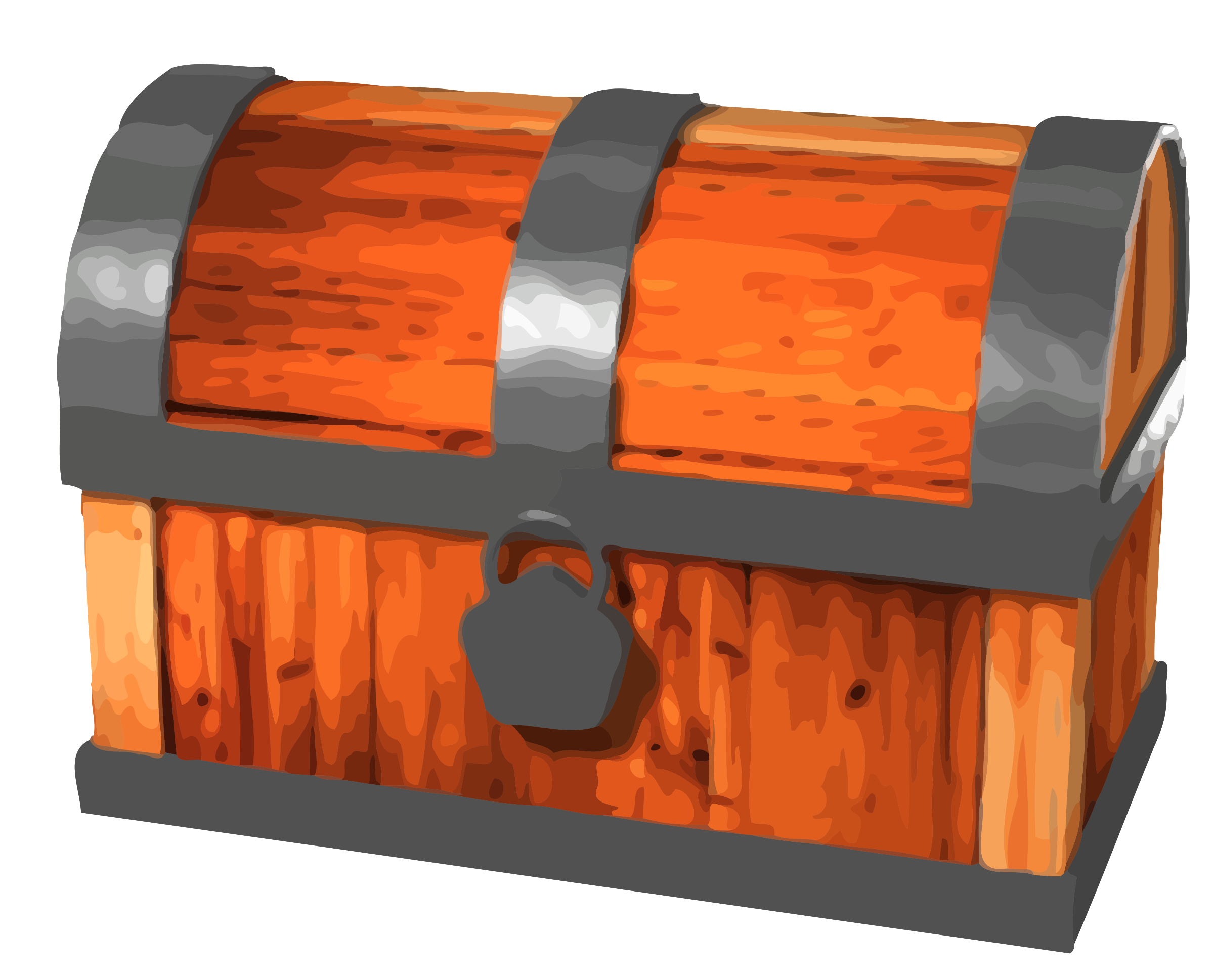 . Clipart box chest