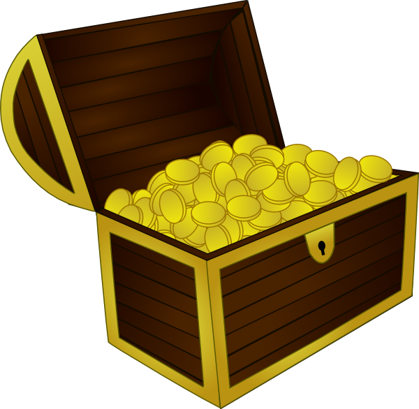 Treasure clip art at. Clipart box chest
