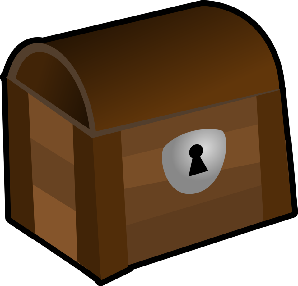 Public domain clip art. Clipart box chest