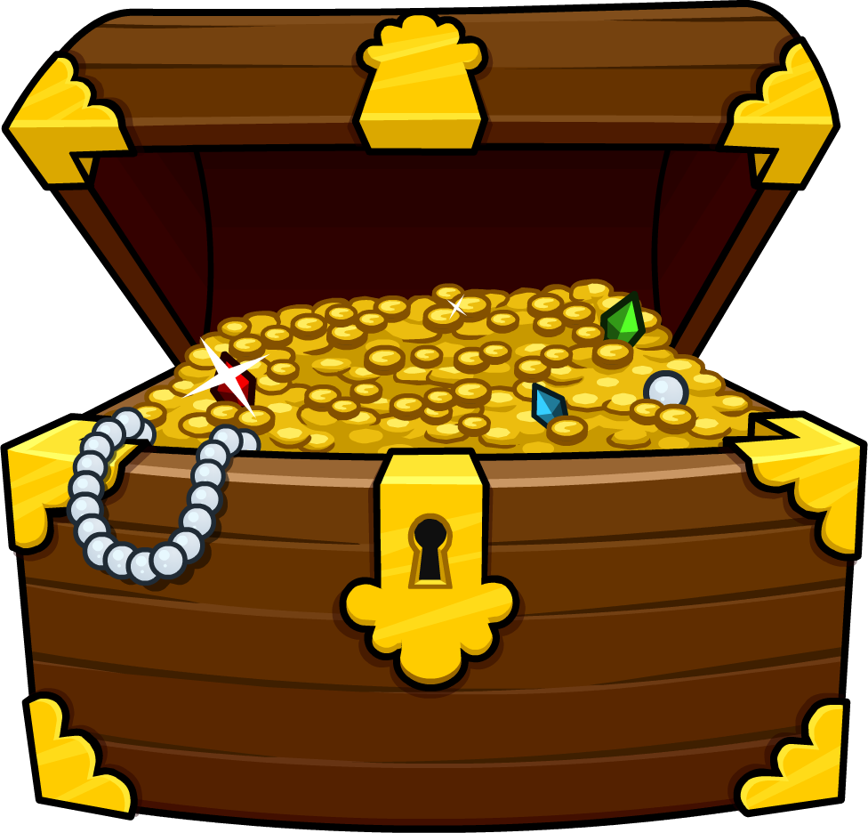 Clipart box chest. Free treasure the cliparts