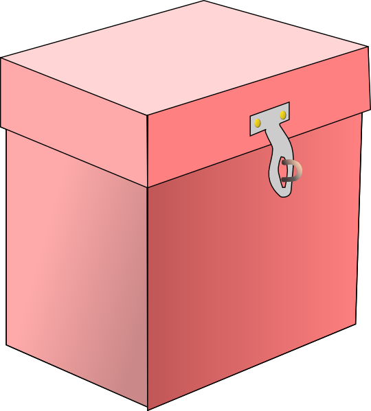 Clip art at clker. Treasure clipart locked box