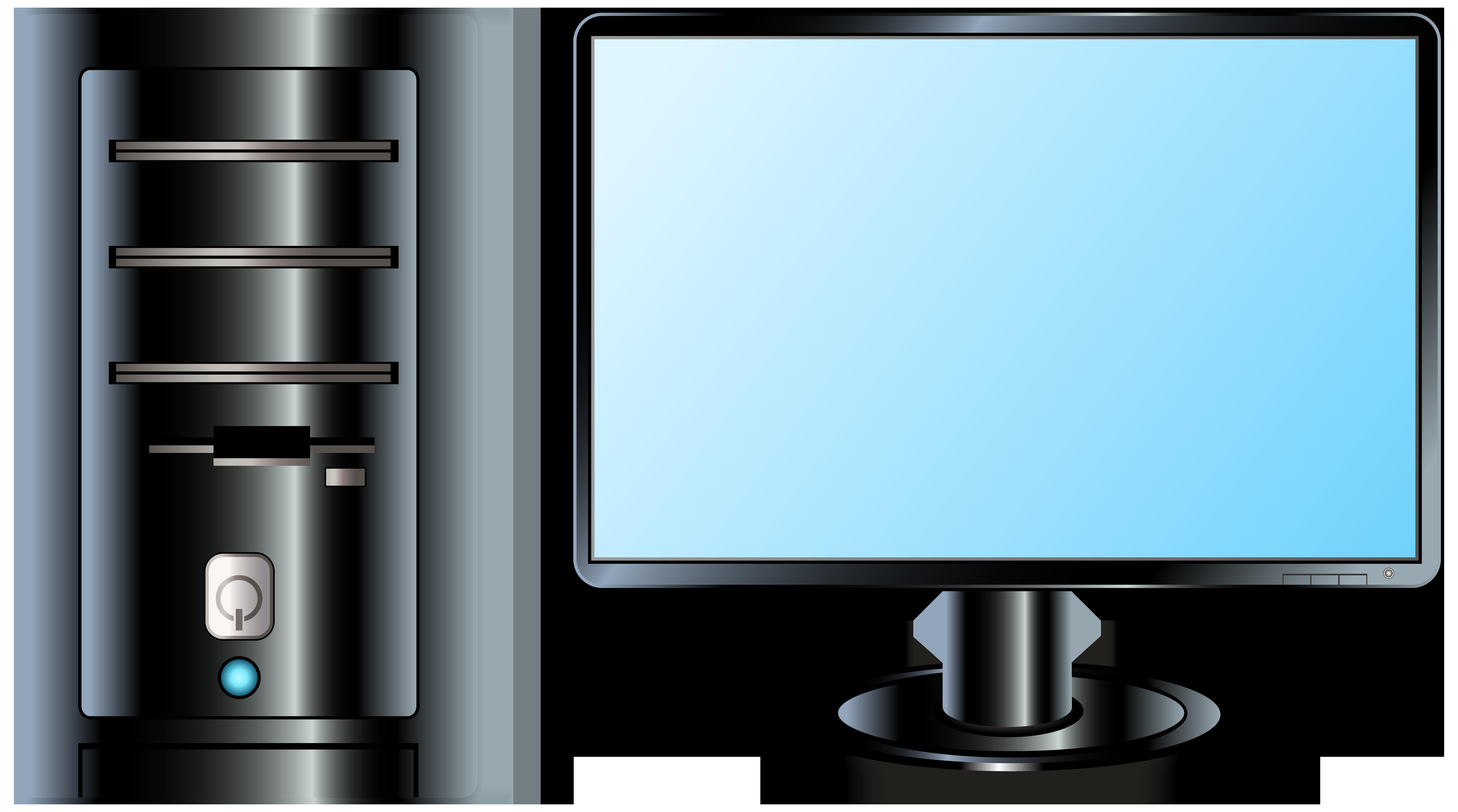 Website clipart electronics. Desktop pc png clip