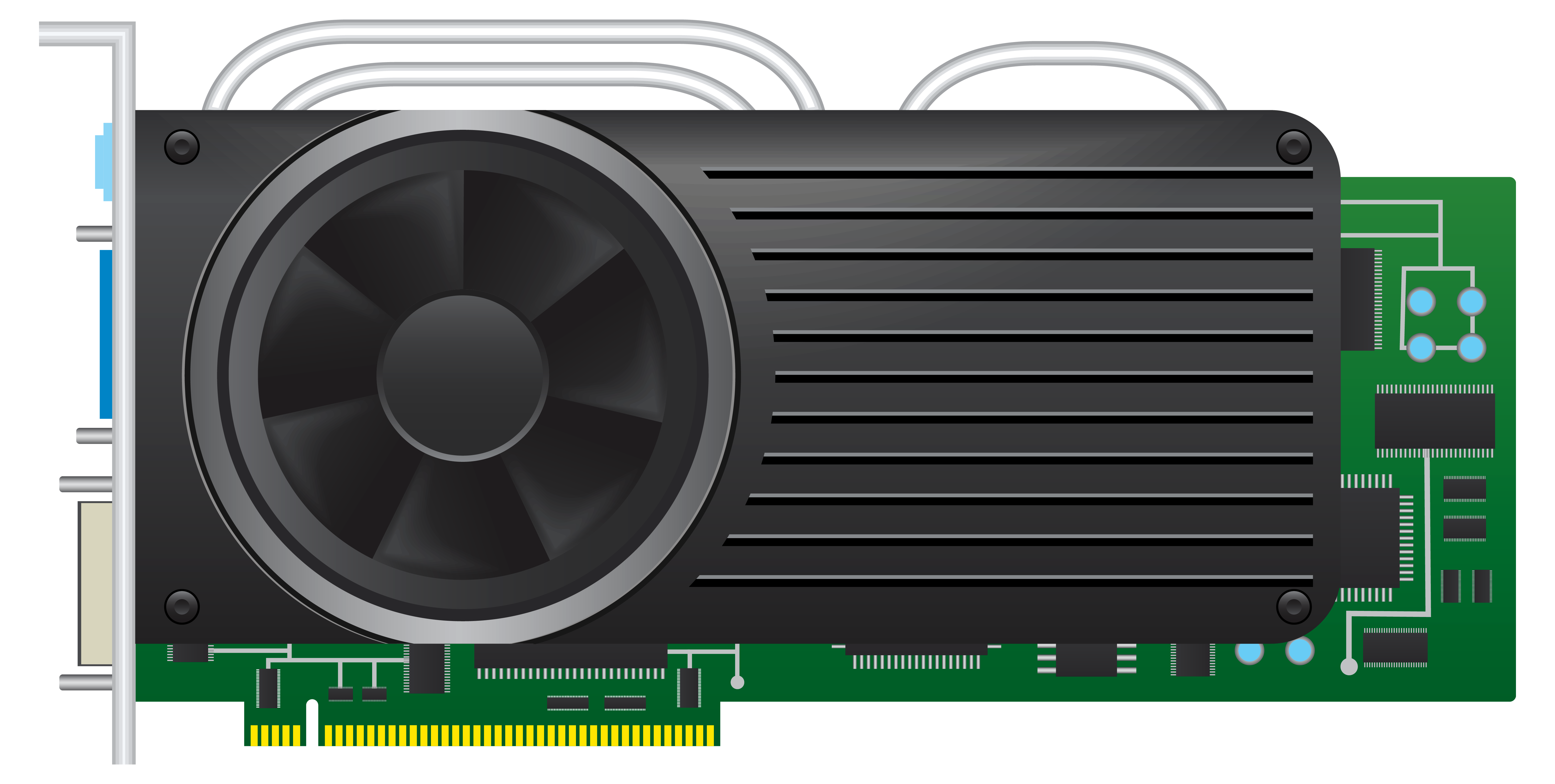 Standard videocard png best. Electric clipart computer