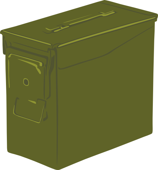 Ammo can clip art. Clipart box crate