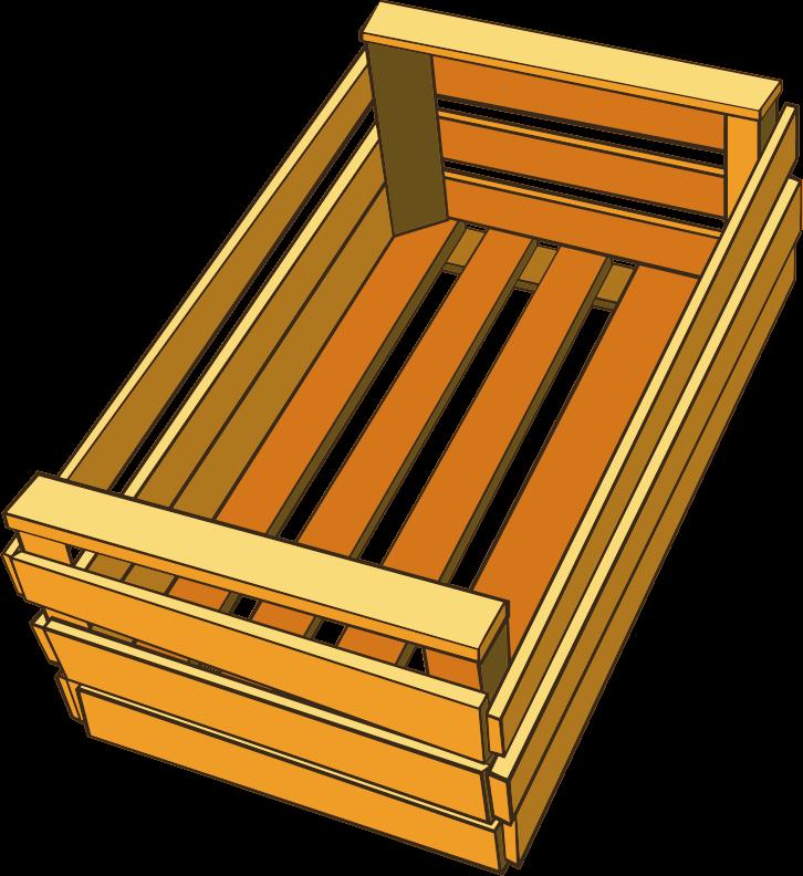 Clipart box crate. Medium image png