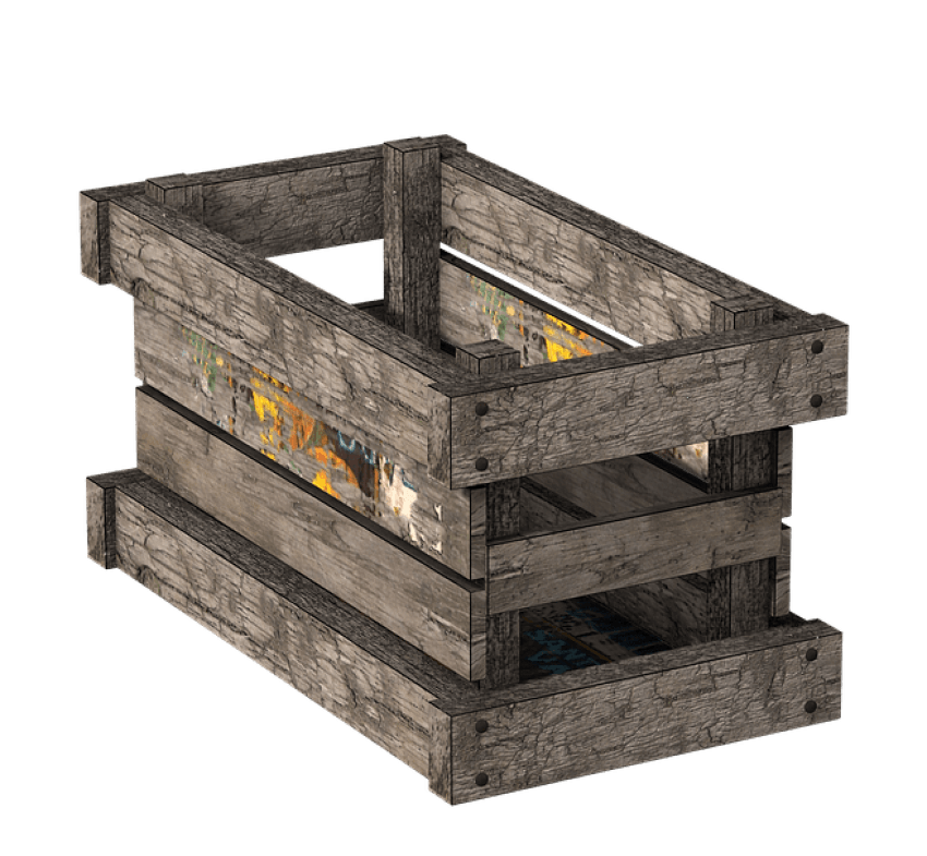 Wooden png free images. Clipart box crate