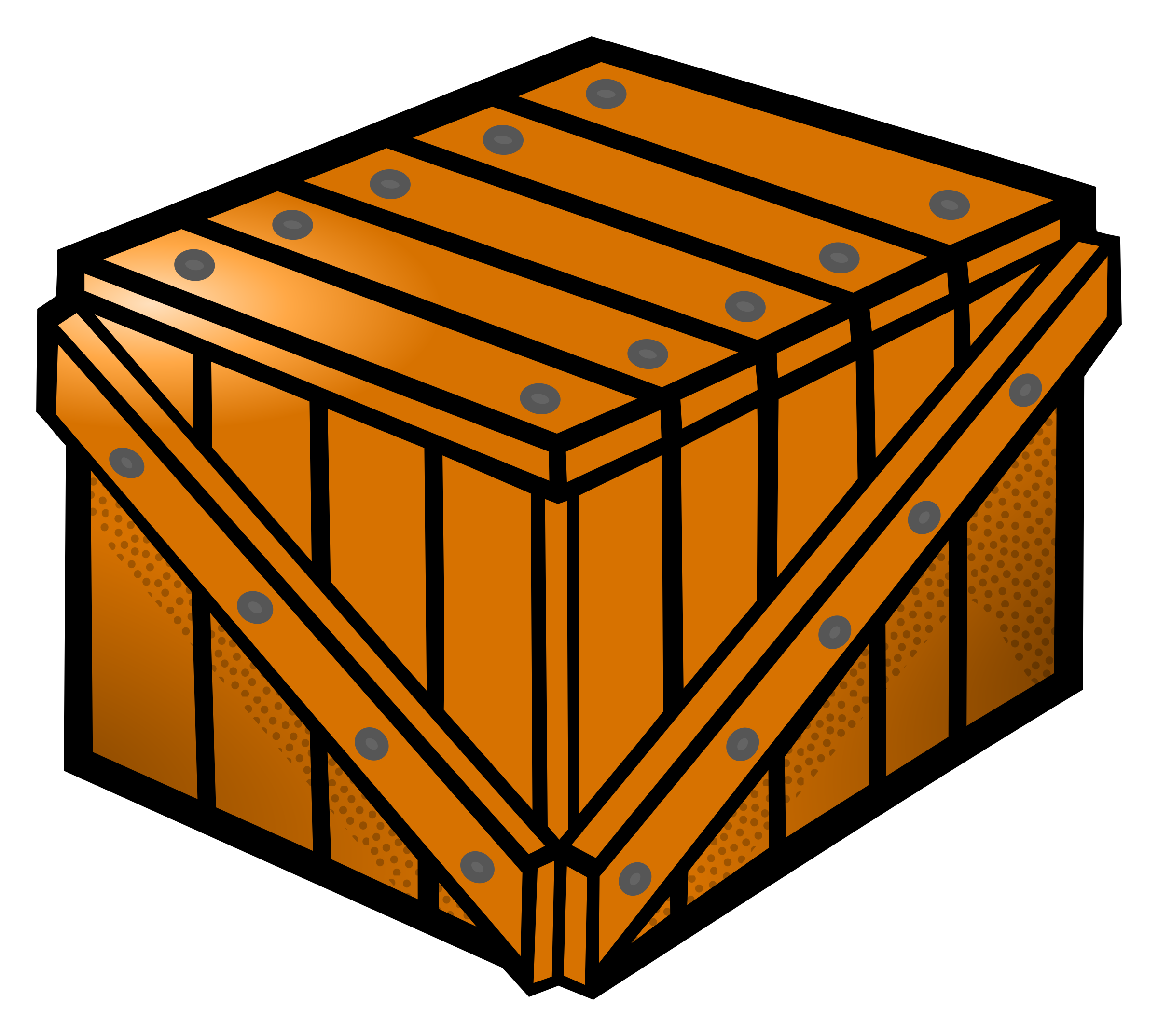 Coloured big image png. Clipart box crate