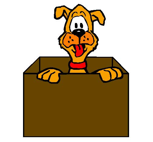 Dog x free clip. Dogs clipart box