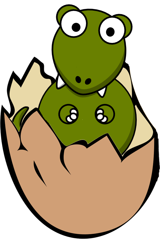 Eggs clipart cartoon. Dinosaur egg at getdrawings