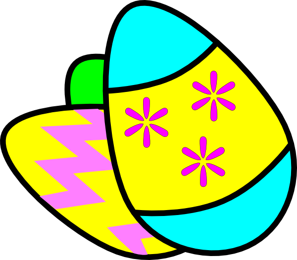 Garden clipart easter. Eggs clip art at