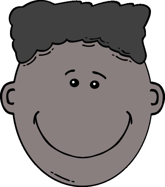 clipart box face
