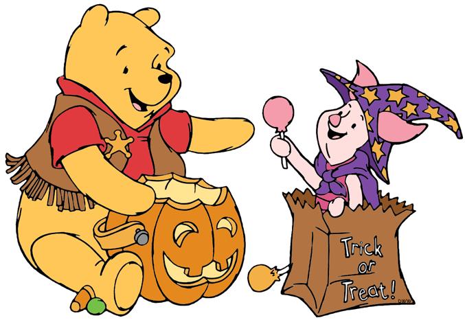 Disney clip art galore. Clipart halloween winnie the pooh