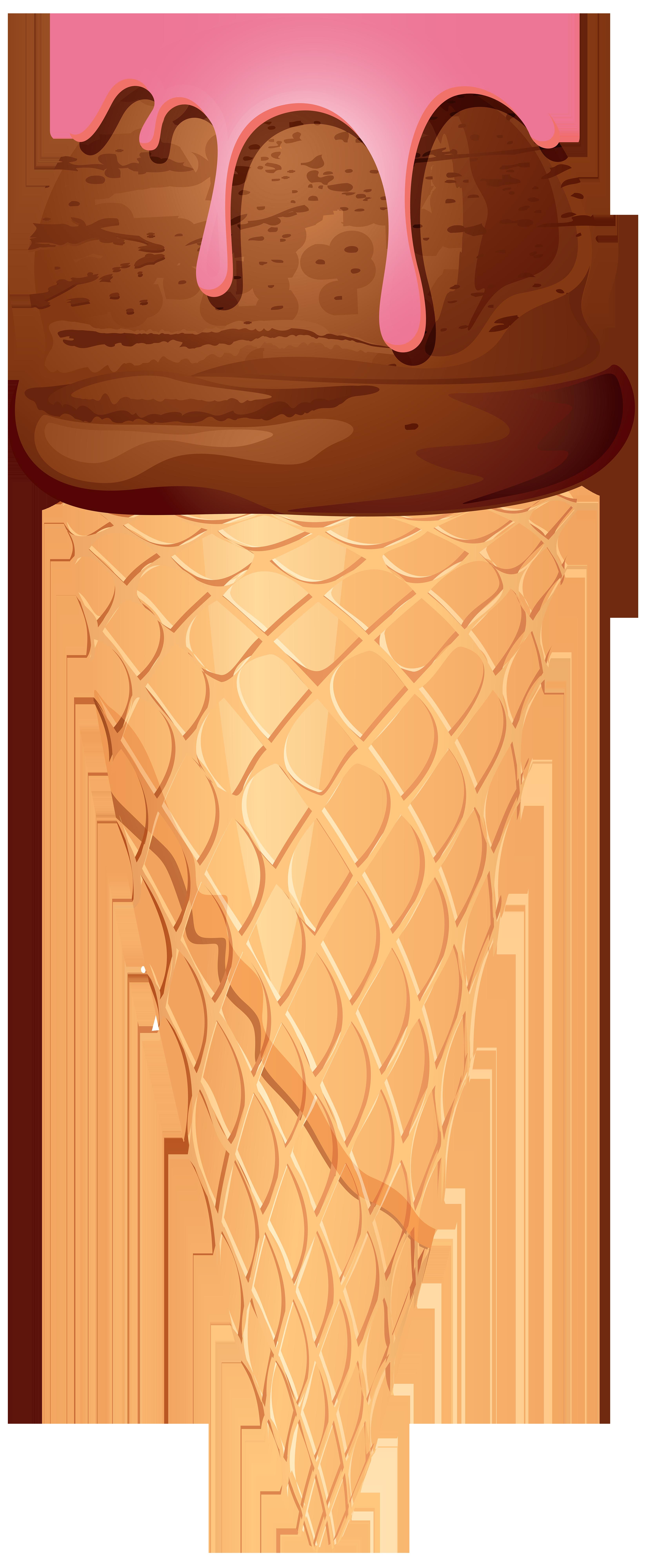 Ice cream cone png. Icecream clipart chocolate