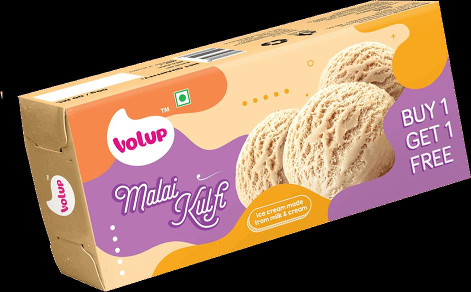 Volup ice cream made. Icecream clipart kulfi