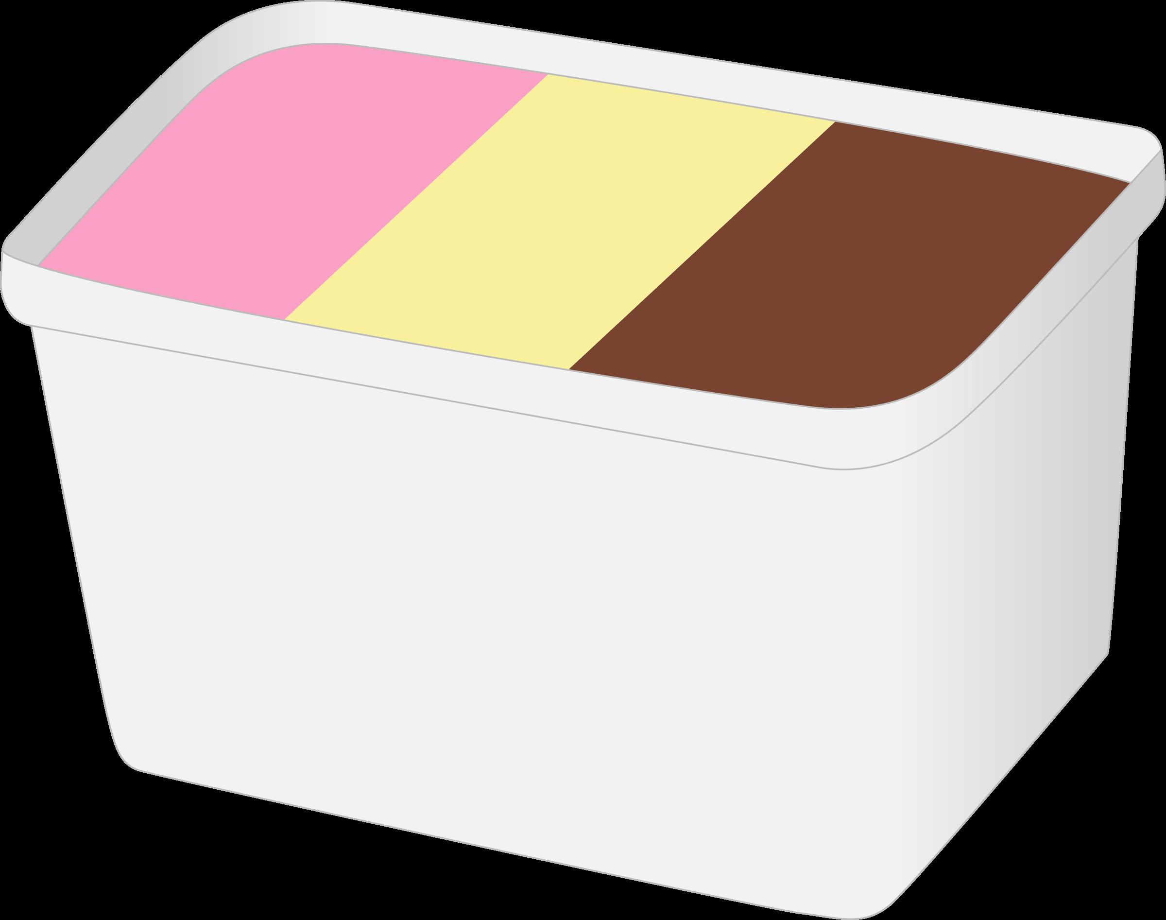 Clipart box ice cream. L big image png