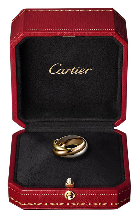 Clipart box jewelry. Gold ring in luxury
