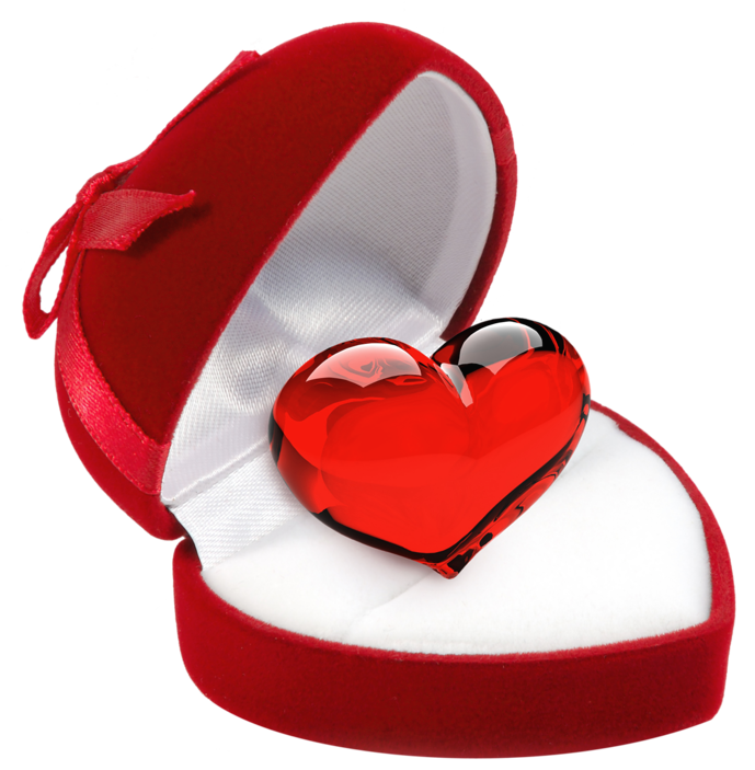 Heart in png picture. Clipart box jewelry