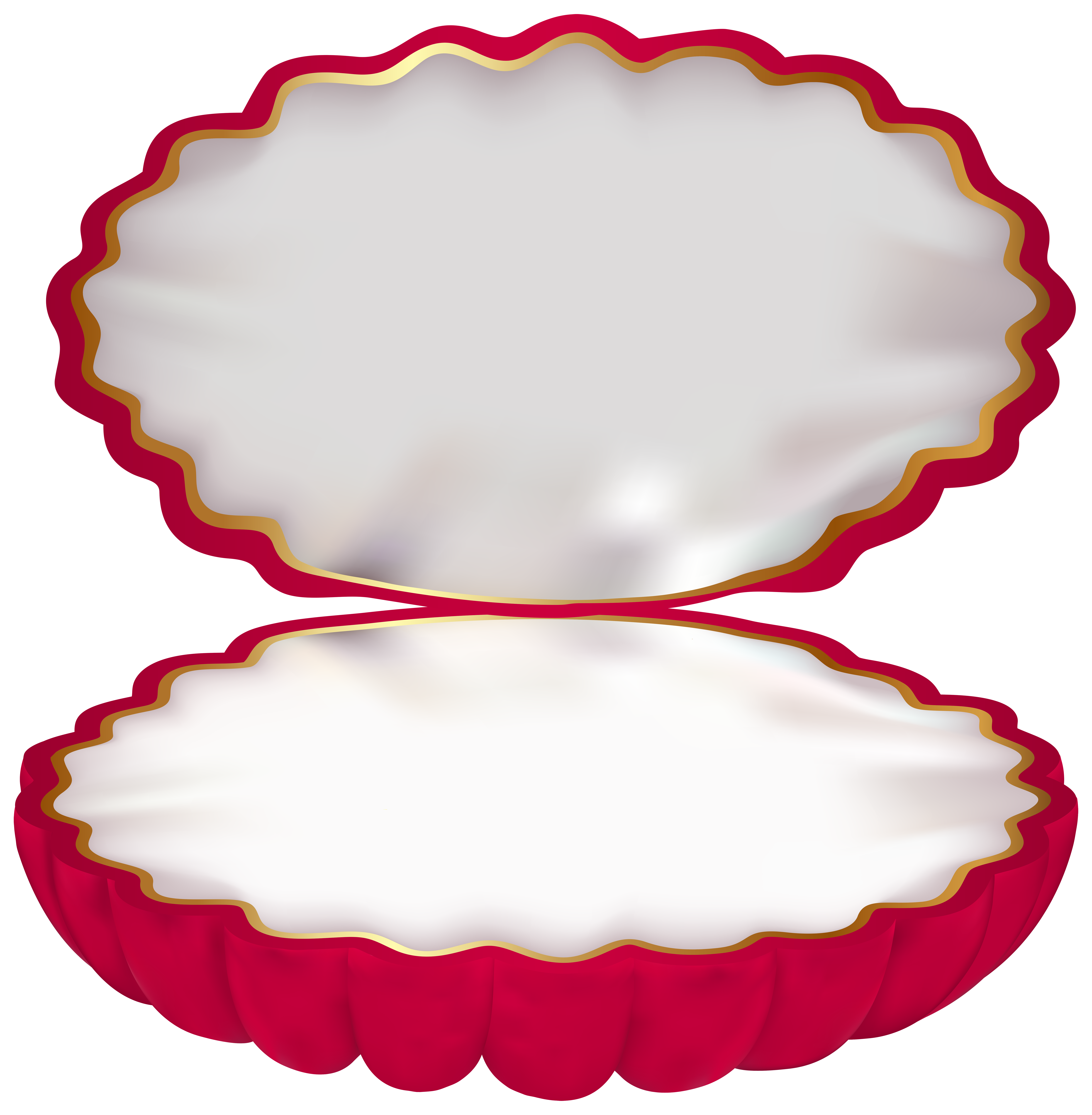 Jewelry box png clip. Shell clipart clamshell
