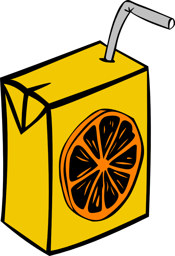 Onlinelabels clip art juice. Square clipart orange